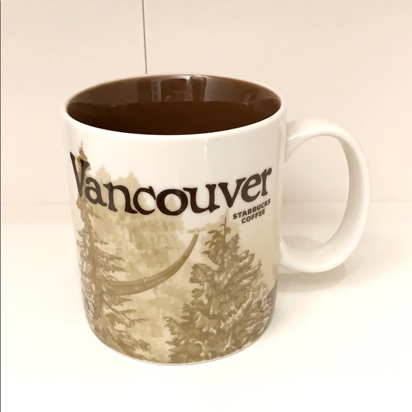Starbucks Vancouver Brown Coffee Tea Mug
